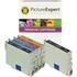 Epson T0556 Compatible Black & Colour Ink Cartridge 5 Pack
