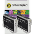Epson T0611 Compatible Black Ink Cartridge TWINPACK