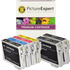 Epson T0615 Compatible Black & Colour Ink Cartridge 6 Pack