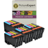 Epson T0715 Compatible Black & Colour Ink Cartridge 16 Pack