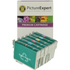 Epson T079 (T0791/2/3/4/5/6) Compatible High Capacity Black & Colour Ink Cartridge 6 Pack
