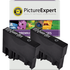 Epson T0801 Compatible Black Ink Cartridge TWINPACK