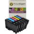 Epson T0807 Compatible Black & Colour Ink Cartridge 6 Pack