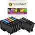 Epson T0807 Compatible Black & Colour Ink Cartridge 8 Pack