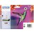 Epson T0807 Original Black & Colour Ink Cartridge 6 Pack