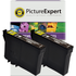Epson T1281 Compatible Black Ink Cartridge TWINPACK
