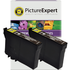 Epson T1291 Compatible High Capacity Black Ink Cartridge TWINPACK