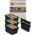 Epson T1295 Compatible Black & Colour Ink Cartridge 14 Pack
