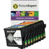 Epson T159 (T1598/1/2/3/4/7/9/0) Compatible Black & Colour Ink Cartridge 8 Pack