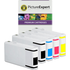 Epson T702 (T7021/2/3/4) Compatible High Capacity Black & Colour Ink Cartridge 5 Pack