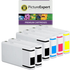 Epson T702 (T7021/2/3/4) Compatible High Capacity Black & Colour Ink Cartridge 6 Pack