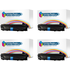 HP 05X ( CE505X ) Compatible High Yield Black Toner Cartridge Quad Pack