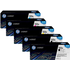 HP 122A (Q3960 / Q3961 / Q3963 / Q3962) Original Black and Colour Toner Cartridge 5 Pack *100 Cashback*