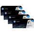 HP 122A (Q3960 / Q3961 / Q3963 / Q3962) Original Black and Colour Toner Cartridge Pack *50 Cashback*