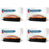 HP 125A ( CB540A ) Compatible Black Toner Cartridge Quad Pack