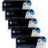 HP 125A (CB540A / CB541A / CB542A / CB543A) Original Black & Colour Toner Cartridge 5 Pack *100 Cashback*