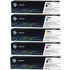 HP 130A (CF350A / CF351A / CF352A / CF353A) Original Black and Colour Toner Cartridge 5 Pack *100 Cashback*