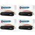 HP 13A ( Q2613A ) Compatible Black Toner Cartridge Quadpack