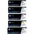 HP 201X (CF400X/401X/402X/403X) Original Black & Colour Toner Cartridge 5 Pack *100 Cashback*