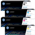 HP 203A Original Black & Colour Toner Cartridge 4 Pack *50 Cashback*