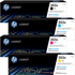 HP 203X Original High Capacity Black & Colour Toner Cartridge 4 Pack *50 Cashback*