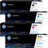 HP 205A Original Black & Colour Toner Cartridge 4 Pack *50 Cashback*