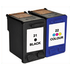HP 21 / 22 ( C9351ae / C9352ae ) Compatible Black & Colour Ink Cartridge Pack