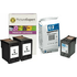 HP 21 / 22 ( C9351ae / C9352ae ) Compatible Black x2 & Out of Date Original Colour x1 Ink Cartridge 3 Pack