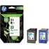 HP 21 / 22 ( C9351ae / C9352ae ) Original Black and Colour Ink Cartridge Pack