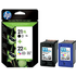 HP 21XL / 22XL ( C9351CE / C9352CE ) Original High Capcity Black and Colour Ink Cartridge Pack