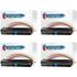 HP 29X ( C4129X ) Compatible Black Toner Cartridge Quadpack