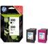 HP 300 ( CC640EE / CC643EE ) Original Black and Colour Ink Cartridge Pack (Unboxed)