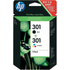 HP 301 ( N9J72AE ) Original Black and Colour Ink Cartridge Pack