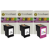HP 302XL ( F6U68AE / F6U67AE ) Compatible 2x Black and 1x Colour Ink Cartridge Pack