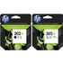 HP 302XL Original Black and Colour Ink Cartridge Pack
