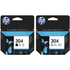 HP 304 ( N9K06AE / N9K05AE ) Original Black and Colour Ink Cartridge Multipack