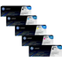 HP 304A (CC530 / CC531 / CC533 / CC532) Original Black and Colour Toner Cartridge 5 Pack *100 Cashback*