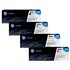 HP 304A (CC530 / CC531 / CC533 / CC532) Original Black and Colour Toner Cartridge Pack *50 Cashback*