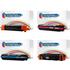 HP 308A ( Q2670 / Q2671 / Q2673 / Q2672 ) Compatible Black and Colour Toner Cartridge Pack