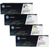 HP 312A (CF380/1/2/3A) Original Black and Colour Toner Cartridge 4 Pack *50 Cashback*