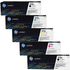 HP 312A (CF380/1/2/3A) Original Black and Colour Toner Cartridge 5 Pack *100 Cashback*