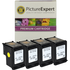 HP 336 ( C9362ee ) Compatible Black Ink Cartridge Quadpack