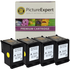 HP 337 ( C9364ee ) Compatible Black Ink Cartridge Quadpack