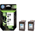 HP 338 ( CB331EE ) Original Black Ink Cartridges x2