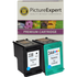 HP 338 C8765EE / 344 C9363EE Compatible Black/Colour Ink Cartridge Pack