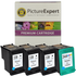 HP 338 and 344 Compatible Black and Colour Ink Cartridge 4 Pack