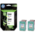 HP 344 ( C9505ee ) Original Maximum Capacity Colour Ink Cartridges x2