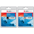 HP 350XL / 351XL Premium Black and Colour Ink Cartridge Pack by AGFA