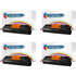 HP 35A ( CB435A ) Compatible Black Toner Cartridge Quad Pack