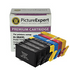 HP 364XL Compatible Black and Colour Ink Cartridge 7 Pack - 3 x BK, 1 x PBK/C/M/Y